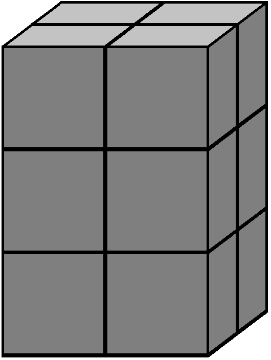 Aim of step 1 of how to solve the 2x2x3 Tower cube