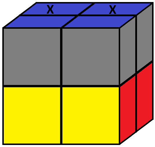 Aim of step 2 of how to solve the Pocket cube