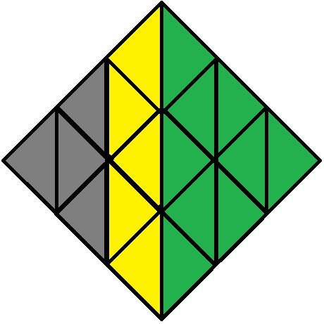 Left face of the Pyraminx