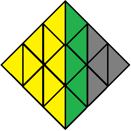 Right face of the Pyraminx