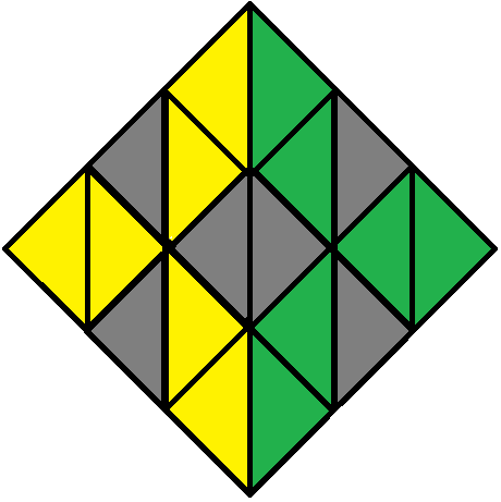 Aim of step 1 of how to solve the Pyraminx