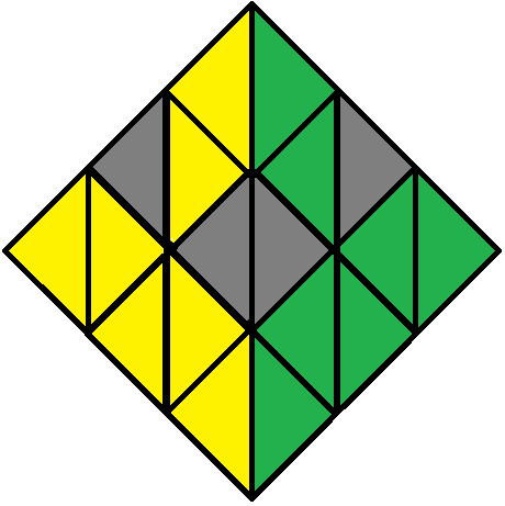 Aim of step 2 of how to solve the Pyraminx