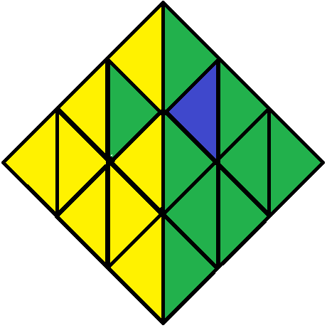 Algorithm of step 3 of how to solve the Pyraminx