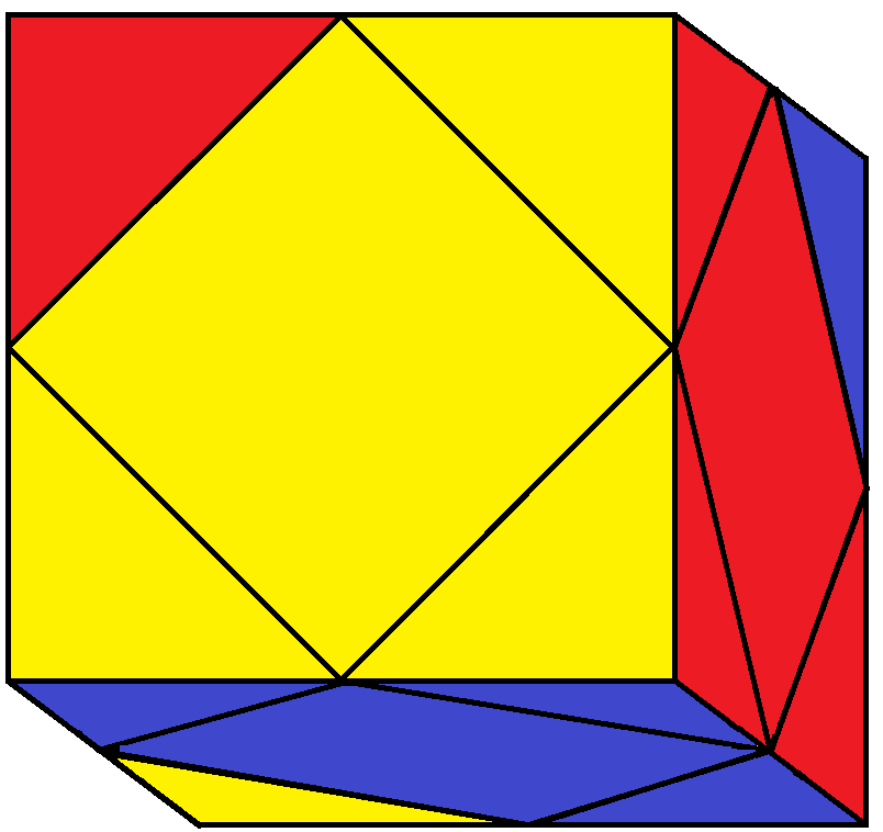 Result of FLD turn of the Skewb