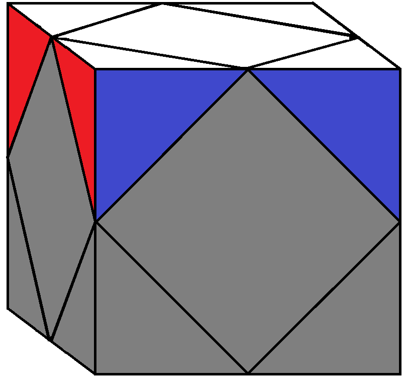 Aim of step 1 of how to solve the Skewb