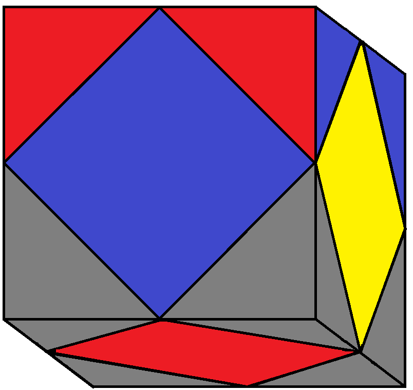 Algorithm 1/2 of step 2 of how to solve the Skewb