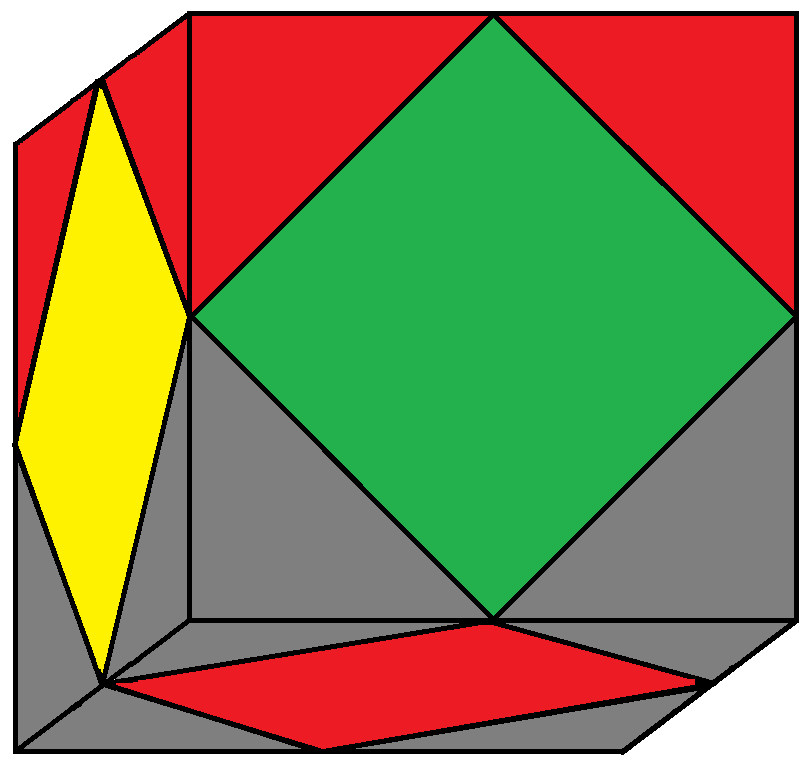 Algorithm 2/2 of step 2 of how to solve the Skewb