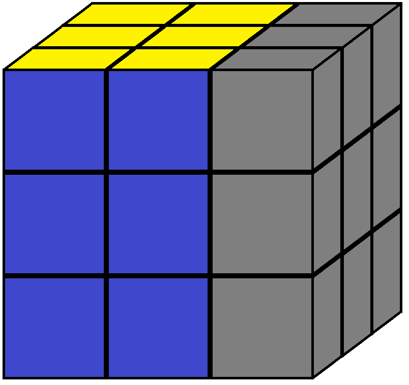 Right face of the Rubik's cube