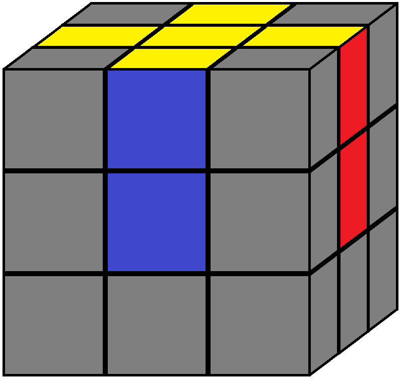 Aim of step 1 in how to solve the Rubik's cube
