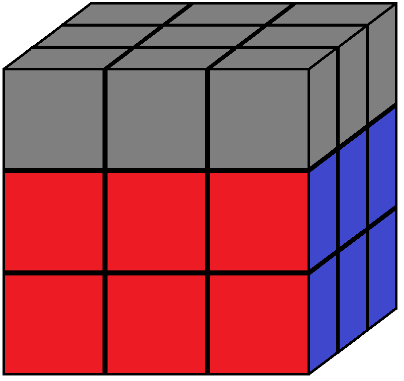 Aim of step 3 in how to solve the Rubik's cube