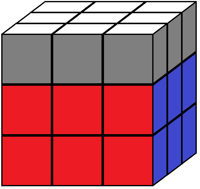 Aim of step 5 in how to solve the Rubik's cube