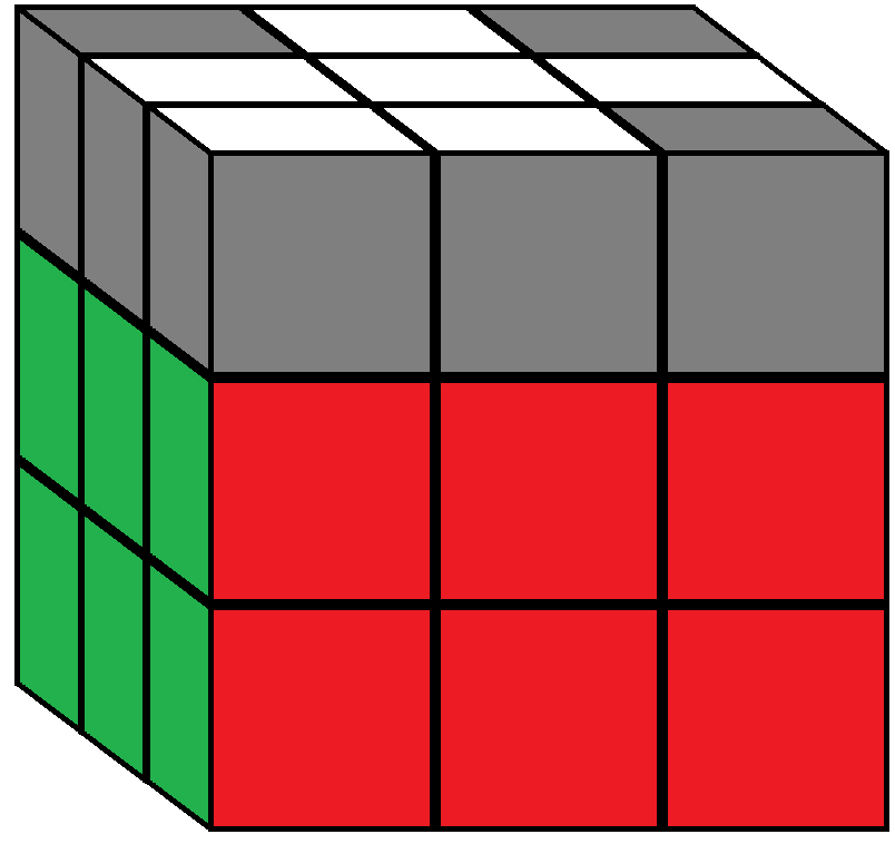 Algorithm 2 of step 5 in how to solve the Rubik's cube