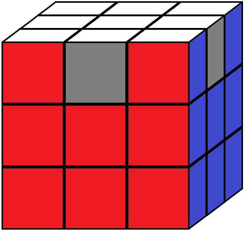 Aim of step 6 in how to solve the Rubik's cube